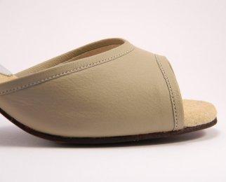 women's open-toe tango shoe and ballroom shoe insole padding