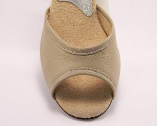 women's peep-toe tango shoe and ballroom shoe vamp