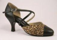 women's closed-toe tango shoe and ballroom shoe