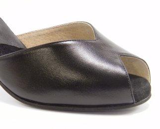 women's peep-toe tango shoe and ballroom shoe insole padding