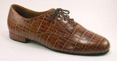 mens oxford tango shoe and ballroom shoe brown tort