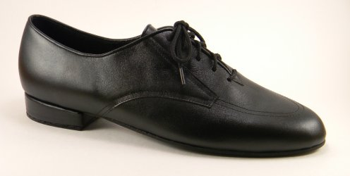 mens oxford tango shoe and ballroom shoe - profile