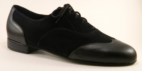 mens wingtip tango shoe and ballroom shoe - profile