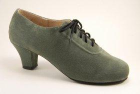 women's oxford tango shoe and ballroom shoe - jade suede