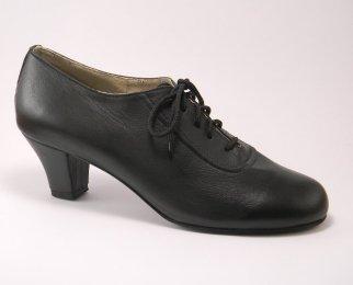 women's oxford tango shoe and ballroom shoe cuban heel