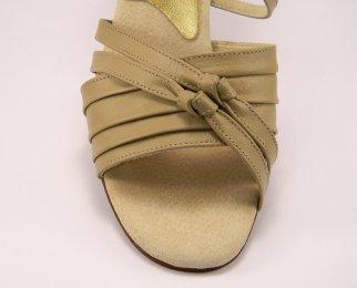 women's open-toe tango shoe and ballroom shoe vamp